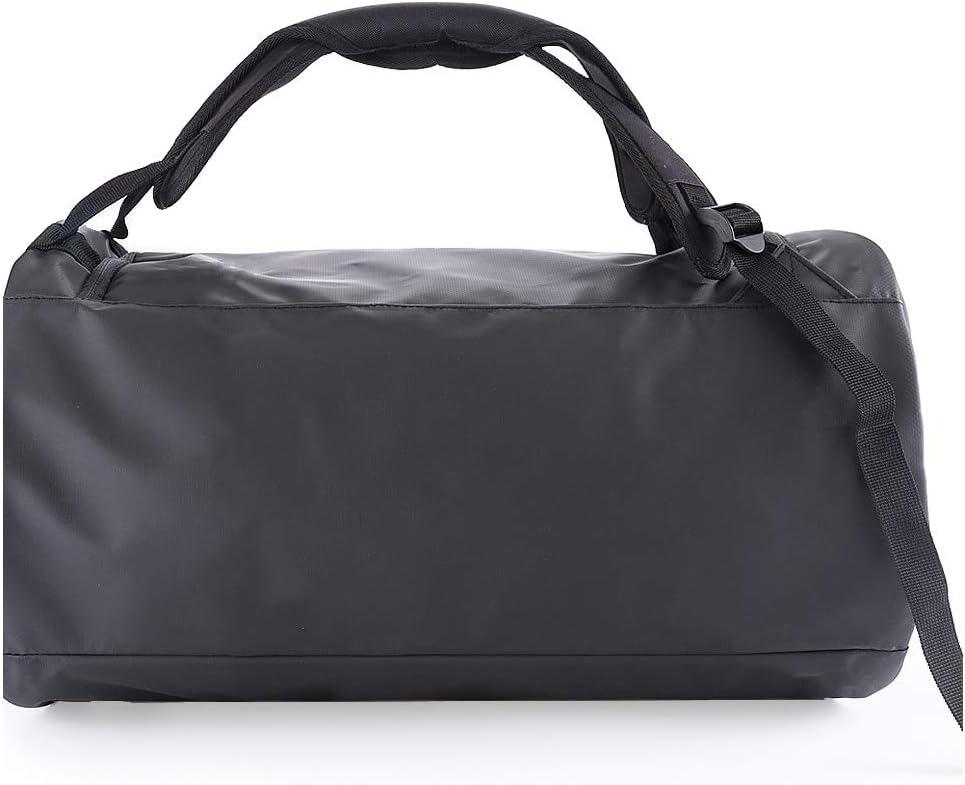 Sac de Sport Bag Weekend Voyage en Nylon Gris fonc/é Homme PACO MARTINEZ Bagage Fin de Semaine