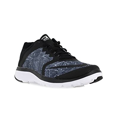 super popular d56bf ed012 Women s Nike FS Lite Run 3 Print Running Shoe Black White 10 B(M) US   Amazon.in  Shoes   Handbags