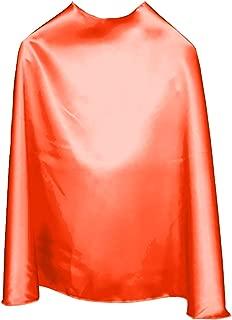 "product image for Superfly Kids 22"" Childrens Superhero Cape (Orange)"