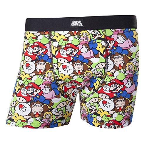 Nintendo Super Mario Print Boxers