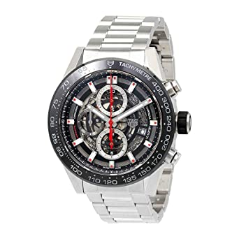 b234ee362a3 Image Unavailable. Image not available for. Color  Mens Tag heuer Carrera  Calibre ...