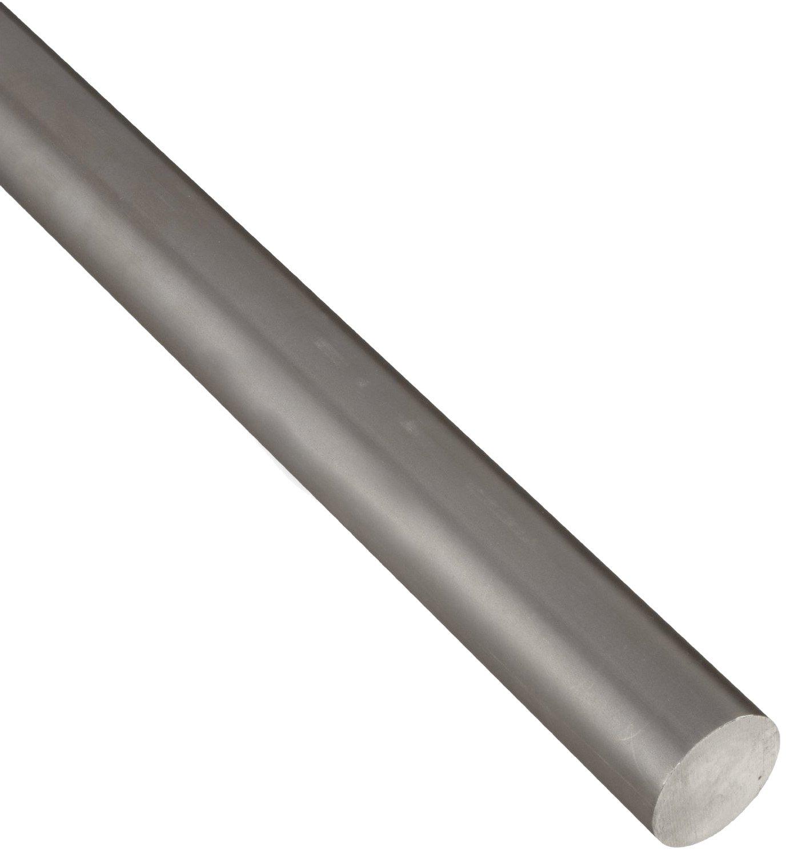 "1144 Steel Round Rod, Unpolished (Mill) Finish, Cold Drawn Temper, ASTM A108, 0.500"" Diameter, 6"" Length 61vErvJRnOL"