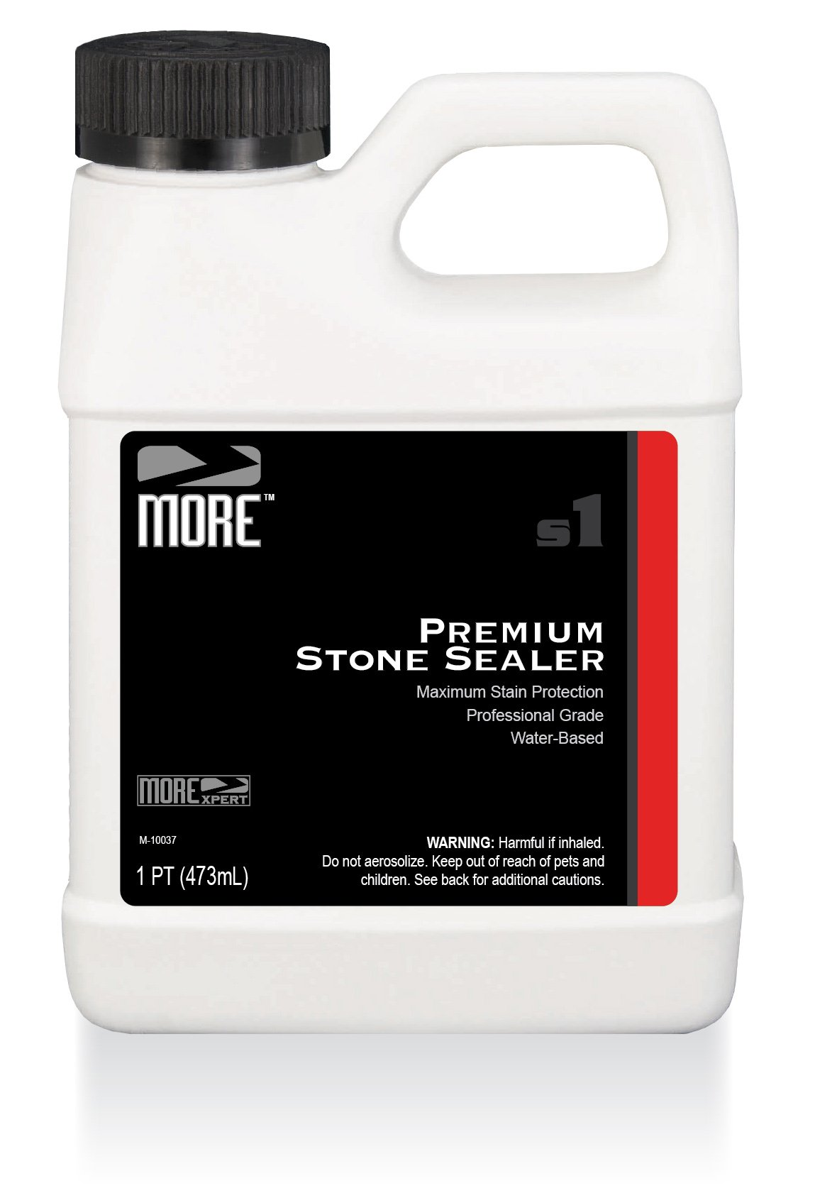 MORE Premium Stone Sealer - Gentle, Water Based Formula - Protection for Natural Stone and Tile Surfaces [Pint / 16 Oz.]