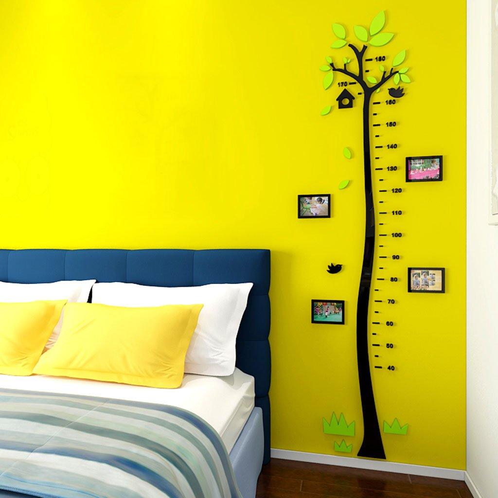 DWW-Wandsticker Höhe Wandaufkleber Acryl 3d Höhe Aufkleber Cartoon kann Kinderzimmer entfernen Wandsticker