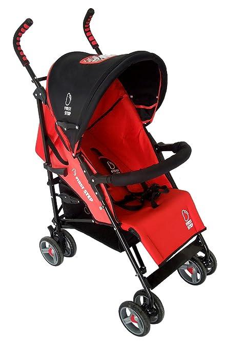 Asalvo Barcelona - Silla, color rojo y negro: Amazon.es: Bebé
