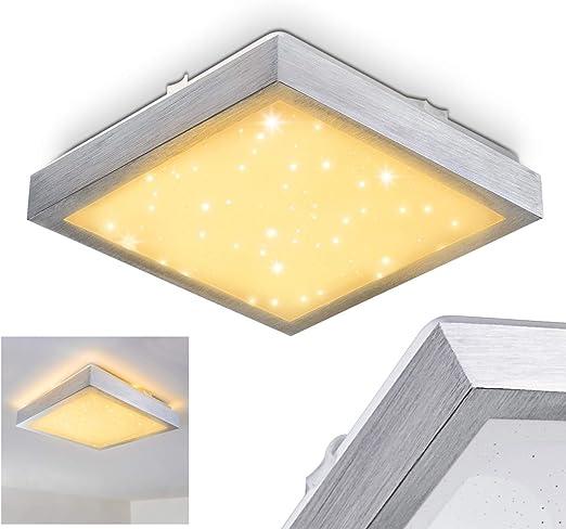 Plafón para baño con LED integrado modelo Sora, lámpara de techo ...