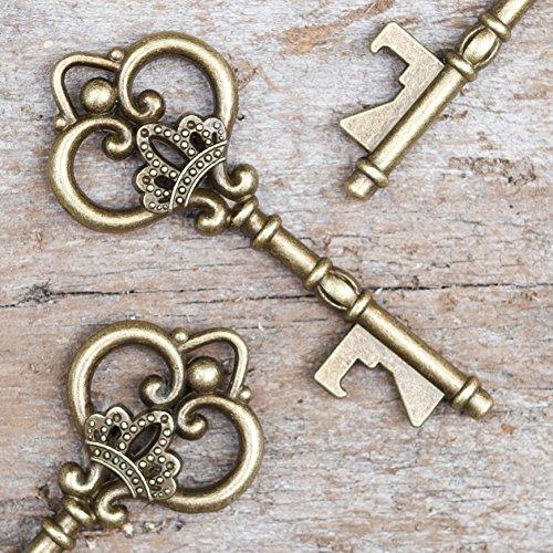 Ella Celebration Wedding Favors - Vintage Skeleton Key Bottl