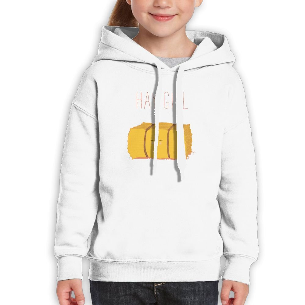 FHHHIOP Hay Girl Youth Cheap Sports Hoodies