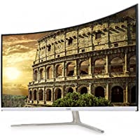 AMH A329CUV Real 144 32 inch 16:9 FHD (1920x1080) 144Hz/1ms Gaming Curved Monitor Slim Bezel, Flicker Free & Low Blue Light, Stainless Stand