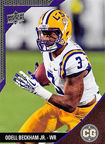 Odell Beckham Jr. Football Card (LSU Tigers) 2014 Upper Deck Conference Greats Silver #61