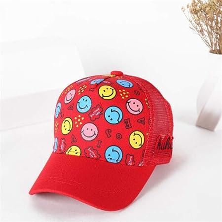 zhuzhuwen Sombreros de niños Gorras de béisbol Transpirables ...