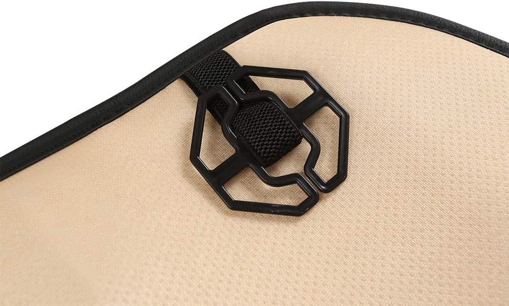 Accessories Black Panther Car Seat Covers Beige with Lumbar ...