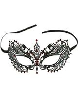 Elegant Venetian Halloween Masquerade Ball Party Mask Metal Laser Cut