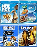 Ice Age + Rango & Yogi Bear Blu Ray Animated Bundle Cartoons Continental Drift / The Meltdown movie Set