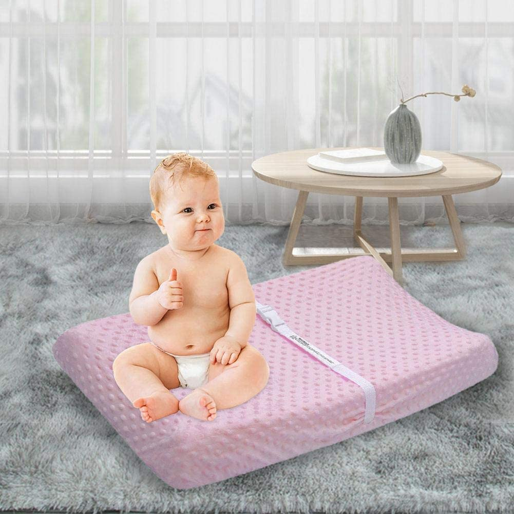 2 Pack Diaper Changing Mat Baby Floor Mat Change Mattress Baby Care Stretchy Changing Pad Covers Stretch Portable Foldable Washable FOONEE Baby Change Mat Cover Reusable,