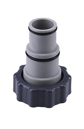 Adaptador A para piscina Intex de atornillar, conexión para 32 y 38 mm manguera