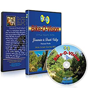 Bike-O-Vision - Virtual Cycling Adventure - Yosemite & Death Valley National Parks - Perfect for Indoor Cycling and Treadmill Workouts - Cardio Fitness Scenery Video (Widescreen DVD #20)