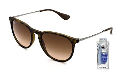 Image Unavailable. Image not available for. Color  Ray Ban RB4171 865 13  54mm Havana Erika Sunglasses ... 1940ba668d