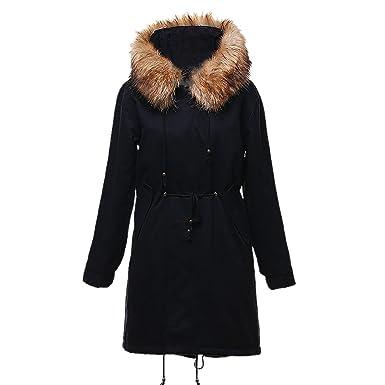 ea0b2f99e1b3 Manteau Femme Hiver Doudoune Longue très Chaud