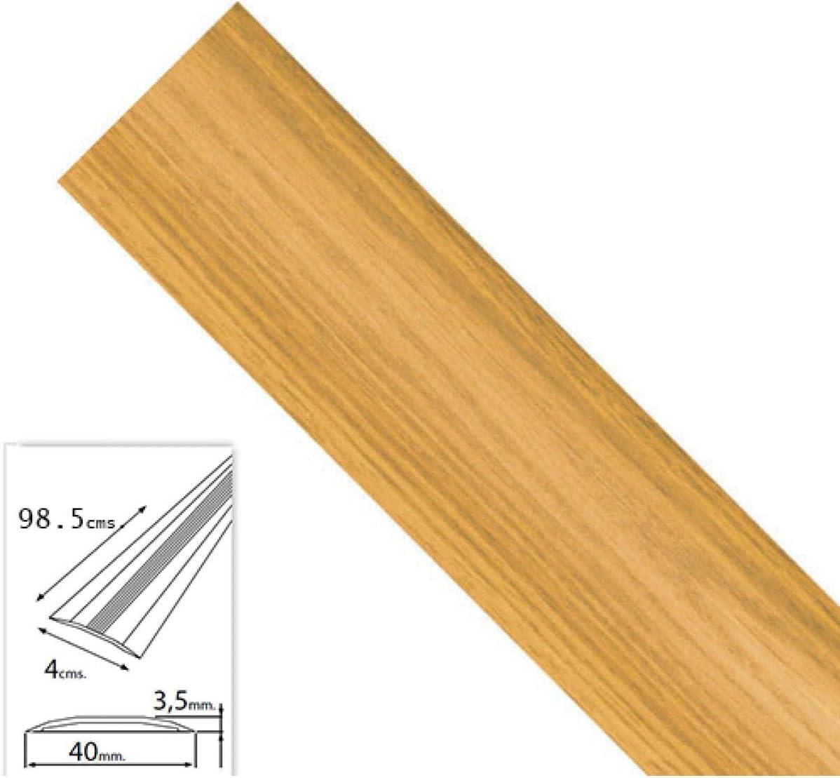 Wolfpack 2541130 Couvre-joint en aluminium adh/ésif pour moquette Ch/êne 98,5/cm