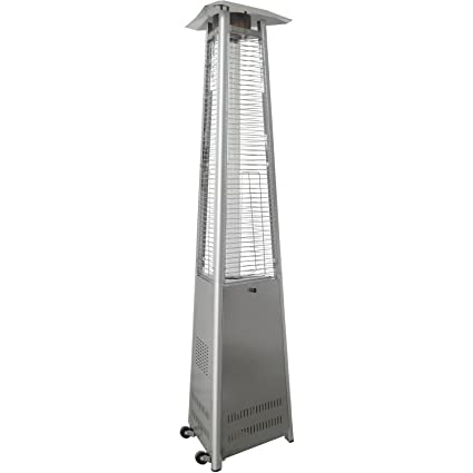 Merveilleux Hanover 42000 BTU Triangle Propane Patio Heater, 7u0027, Stainless Steel