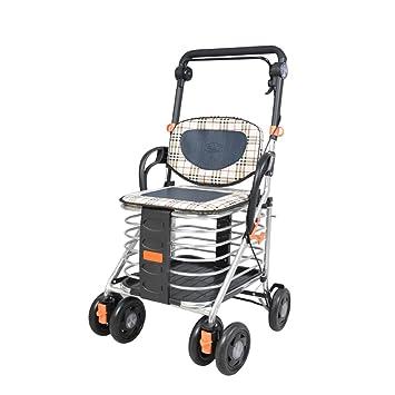 Carritos de la compra Carritos de compras, ayudas a la movilidad para personas mayores,