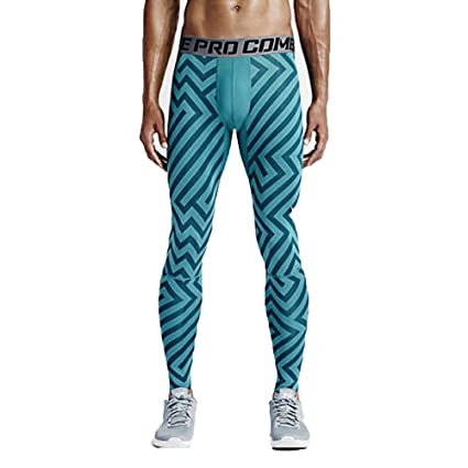 08eaa937 Nike Men's Pro Hypercool Endzone 3.0 Compression Tights (Medium, Emerald  (309) /