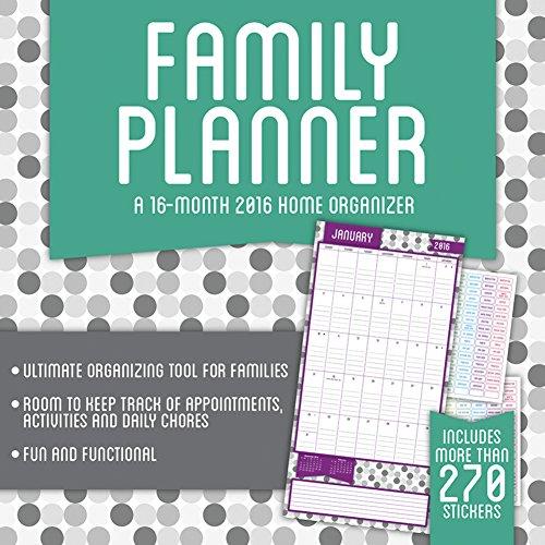 Family Planner 2016 Wall Calendar by Trends International