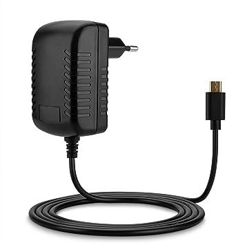Aukru Cargador Adaptador para Raspberry Pi 2/3, Model B, Micro USB, 5V, 3000mA