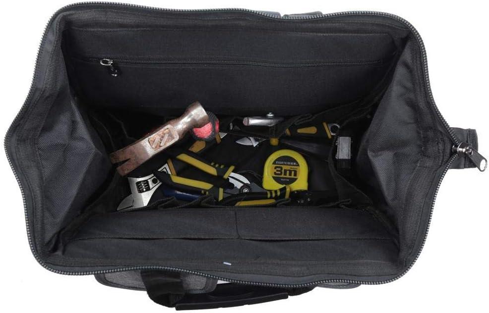 Bolsa de herramientas YILEQI Herramientas de reparaci/ón multifuncionales Mochila de almacenamiento Organizador Oxford Cloth 3D Neum/ático de bolsa tridimensional 42.00 * 15.00 * 32.00