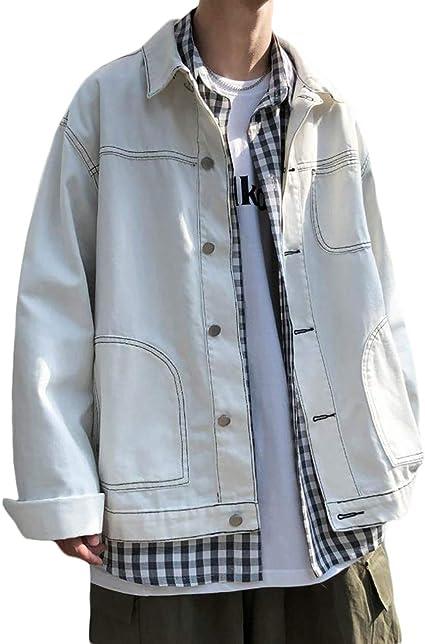 BEIBANGデニムジャケット メンズ ジージャン コート ゆったり ジャケット デニム 長袖 カジュアル 上着 アウター おしゃれ ストリート系 秋 大きいサイズ