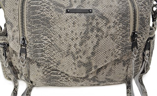 Tyoulip Sisters , Sac bandoulière pour femme gris gris clair