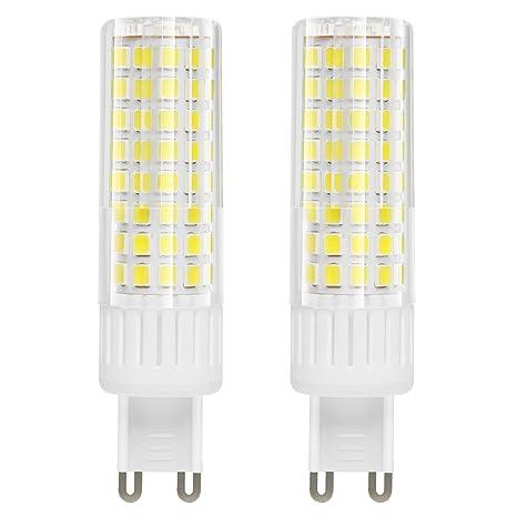 Tipi Di Lampade A Led.1819 L Ultimo Tipo Di Luce Led G9 Lampadine 7 5w Equivalenti A 85 Watt Bulbo Alogeno Non Dimmerabile Alta Luminosita 90v 265v Bianco Freddo 6000k