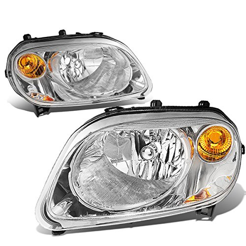 DNA MOTORING HL-OH-007-CH-AM Headlight Assembly, Driver And Passenger Side (Headlight Hhr Assembly)