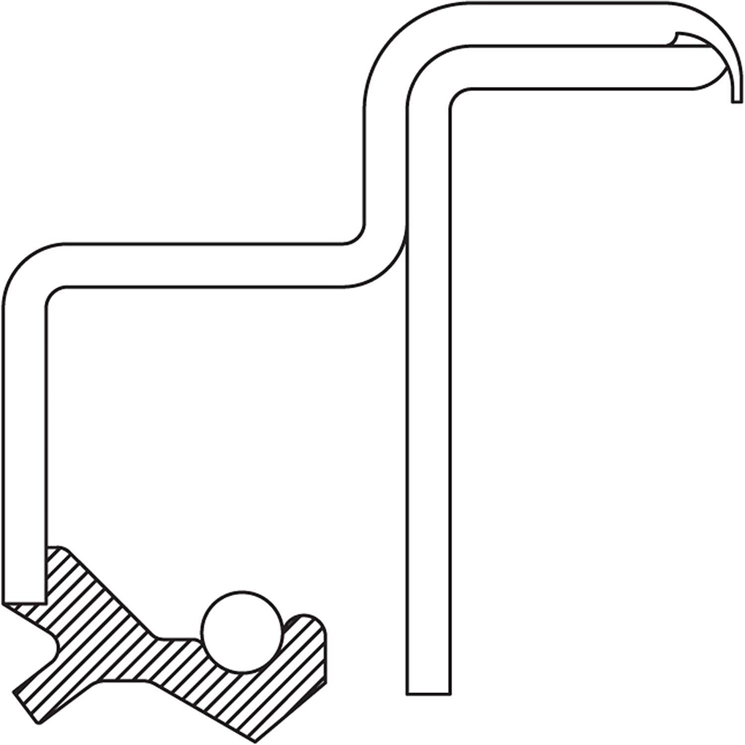 National Oil Seals 2674 Seal