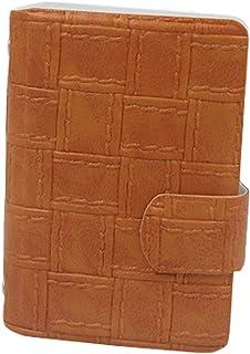 carte de crédit sac de carte de support avec 20 emplacements pour cartes, tan Blancho Bedding