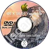 #6: MacOS Mac OS X 10.10 Yosemite DVD Disc Disk Full Install Installer Update Upgrade Recover Restore Backup