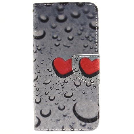 KATUMO® Carcasa Cuero Galaxy S7 Edge, Funda Cover Cartera Tapa Case para Samsung Galaxy S7 Edge SM-G935F (5.5 Pulgadas) Funda de Piel Cubierta Caso ...