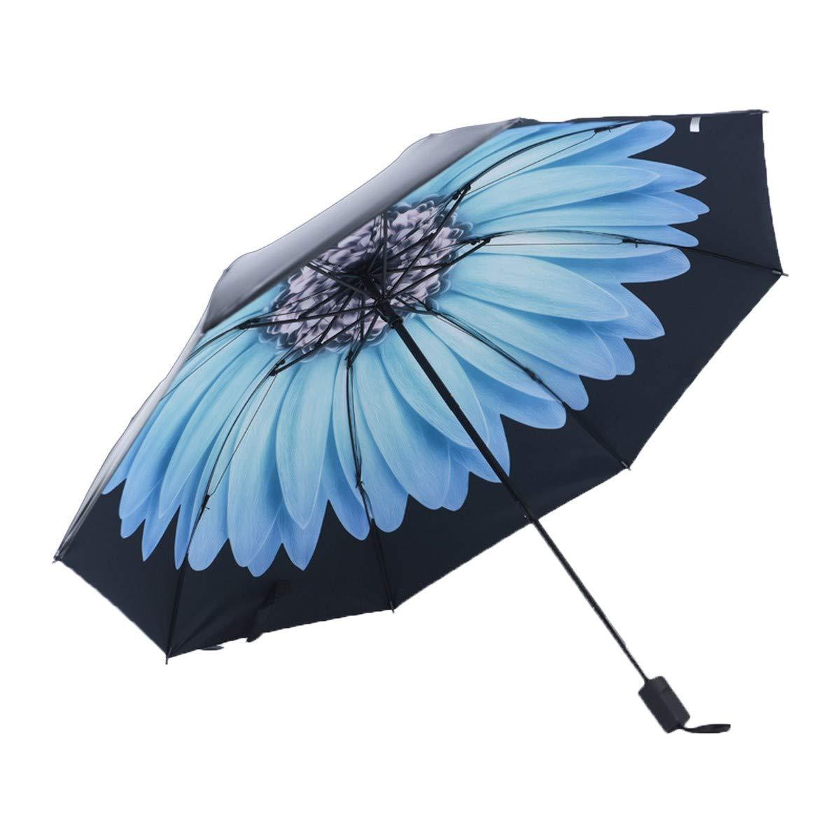 YSKGZ Paraguas Paraguas Ilustrador Pintado A Mano Paraguas ...