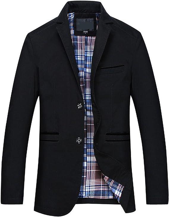 Achat Blazer Homme En Ligne Mode L'automne Manteau Printemps