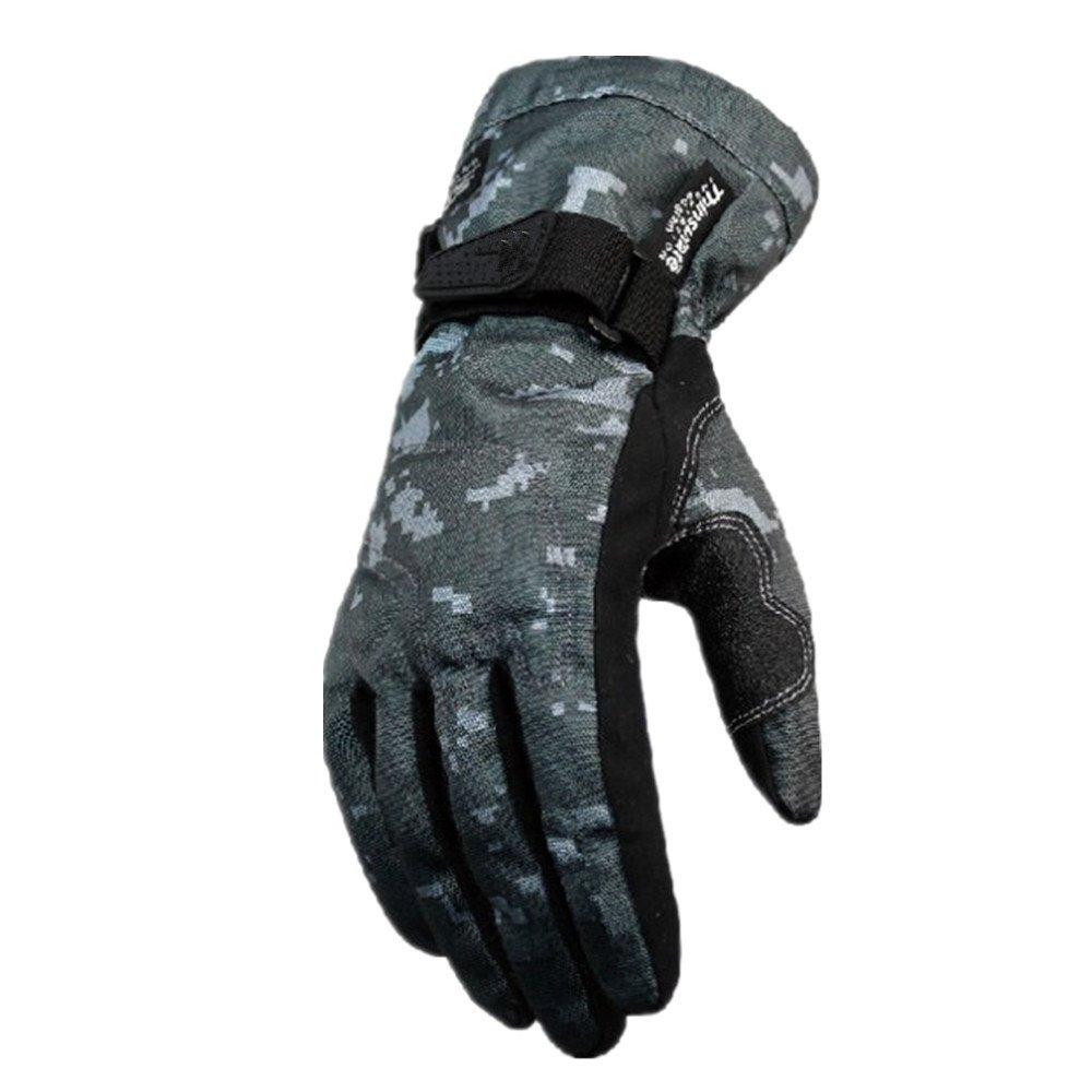 QARYYQ Outdoor Sports Vollfinger-Motorradhandschuhe Klettern Wandern Jagd Angeln Radfahren Handschuhe, Grün Handschuh (größe   XXL)