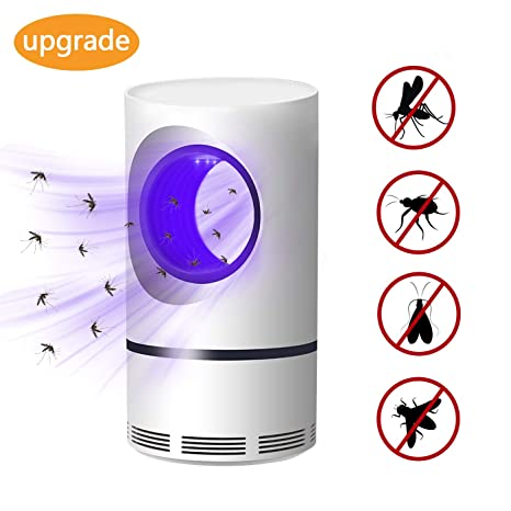 Computer & Office Computer Peripherals Charitable Electronic Mosquito Killer Led Light 368nm Uv Usb Power Fly Catcher Trap Lamp Travel Home Kitchen Restaurant