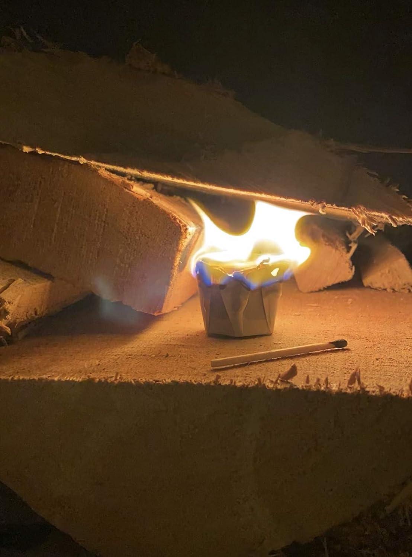 Coffee fire starters