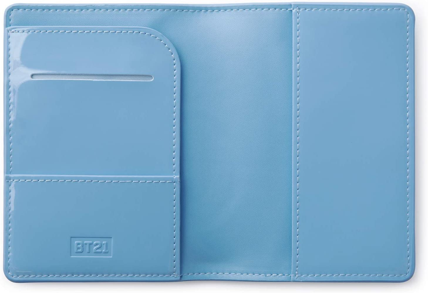 BT21 Official Merchandise by Line Friends KOYA Character Enamel Passport Holder Cover