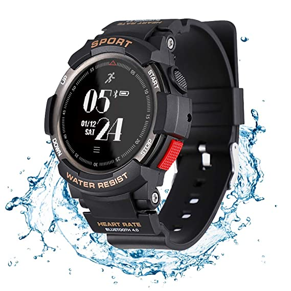 N NEWKOIN Smart Watch Sports Watch IP68 Waterproof Supports Running, Cycling, Swimming, Fitness Tracker with Heart Rate Monitor, Calorie & Activity ...
