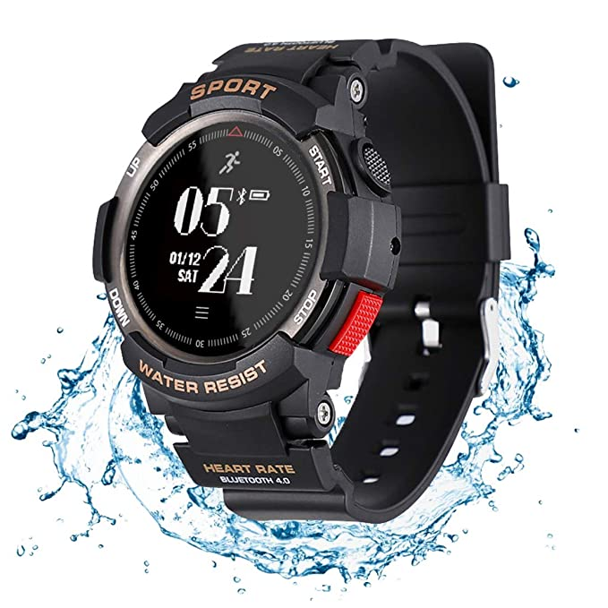 e52d921eb N NEWKOIN Smart Watch Sports Watch IP68 Waterproof Supports Running,  Cycling, Swimming, Fitness