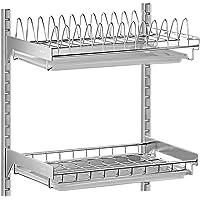 Shelf Estante-304 Acero Inoxidable montado en la Pared