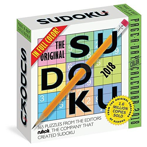 The Original Sudoku Page-A-Day Calendar 2018