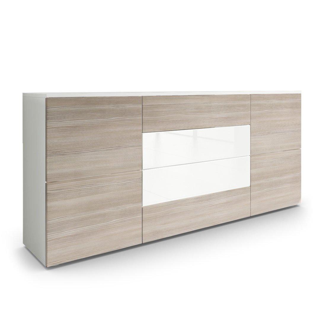 Einzigartig Sideboard Beleuchtet Das Beste Von Kommode Rova In Weiß Matt / Avola