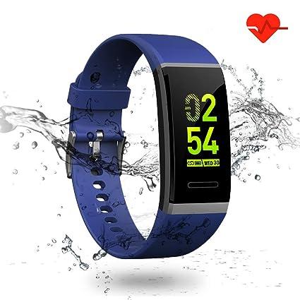 LTPAG Pulsera Actividad Inteligente, Podómetro Pulsera Deportiva Monitores de Actividad Niño Pulsera Actividad Hombre Reloj